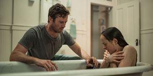 Armie Hammer y Dakota Johnson en 'Wounds'