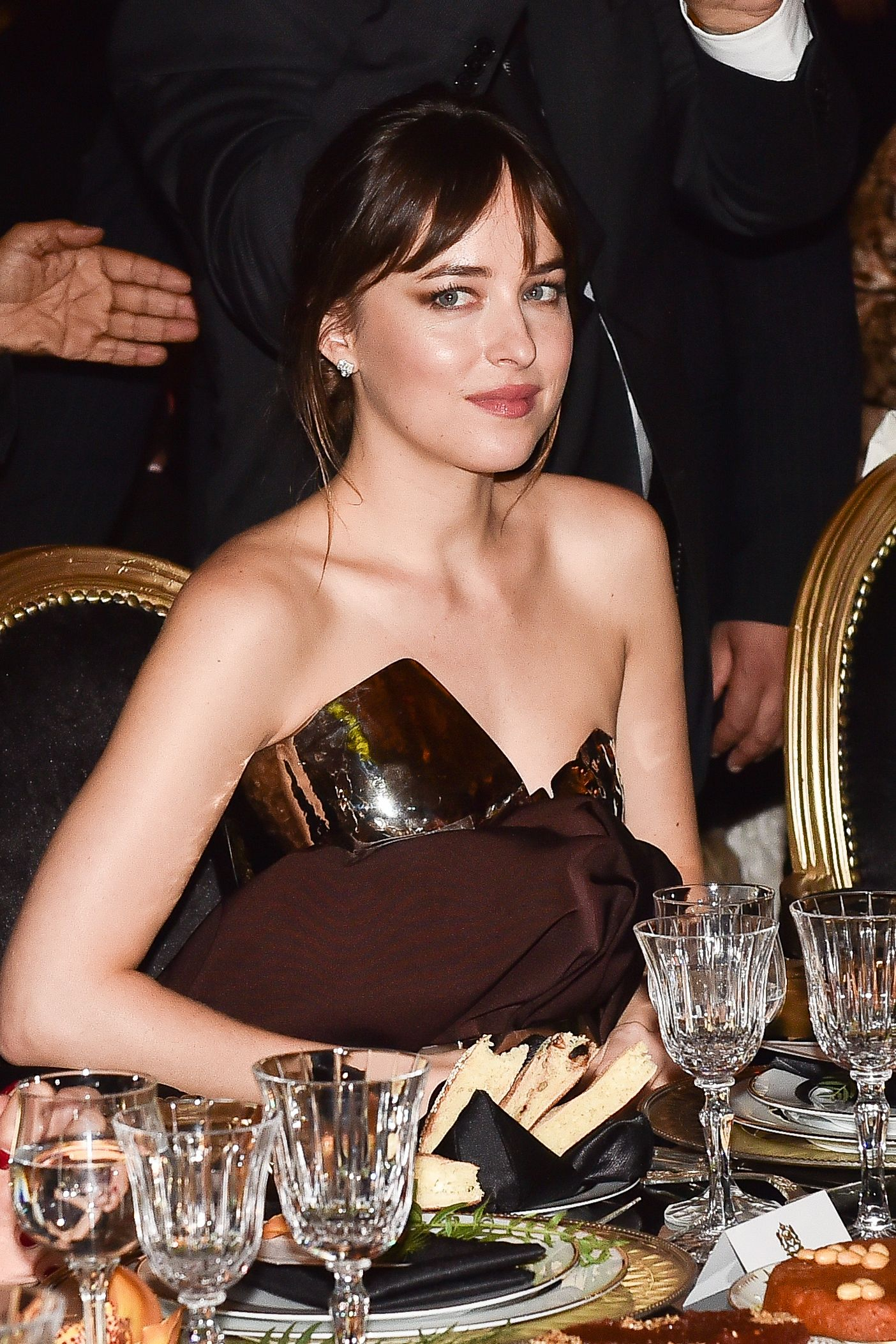 Known for her breakout role as Anastasia Steele in the Fifty Shades of Gray trilogy, Dakota Johnson was named Miss Golden Globe in 2006– carrying on the Hollywood legacy of both her mother, Melanie Griffith, who was also a Miss Golden Globe.