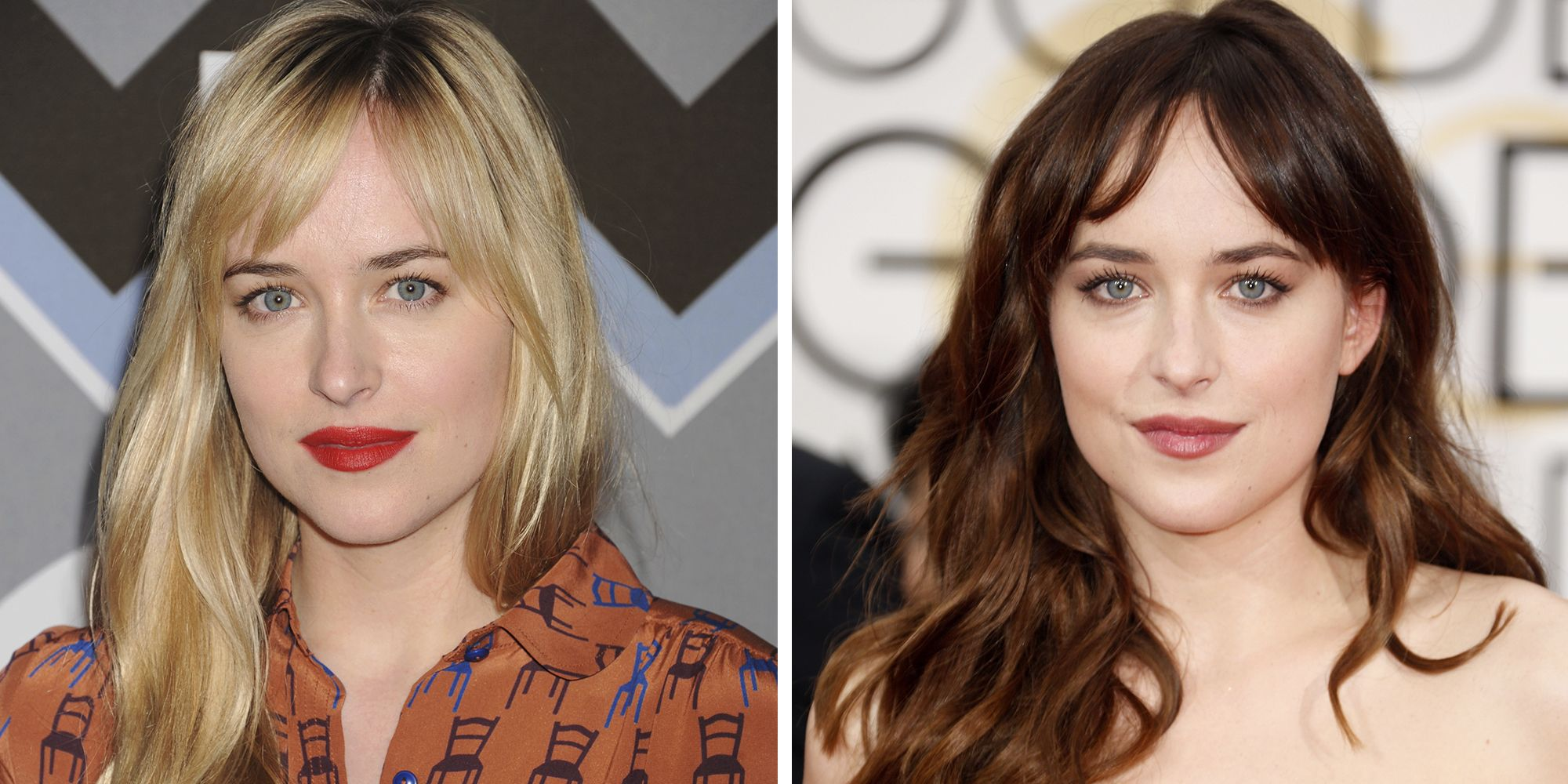28 Celebrities With Blonde Vs Brown Hair
