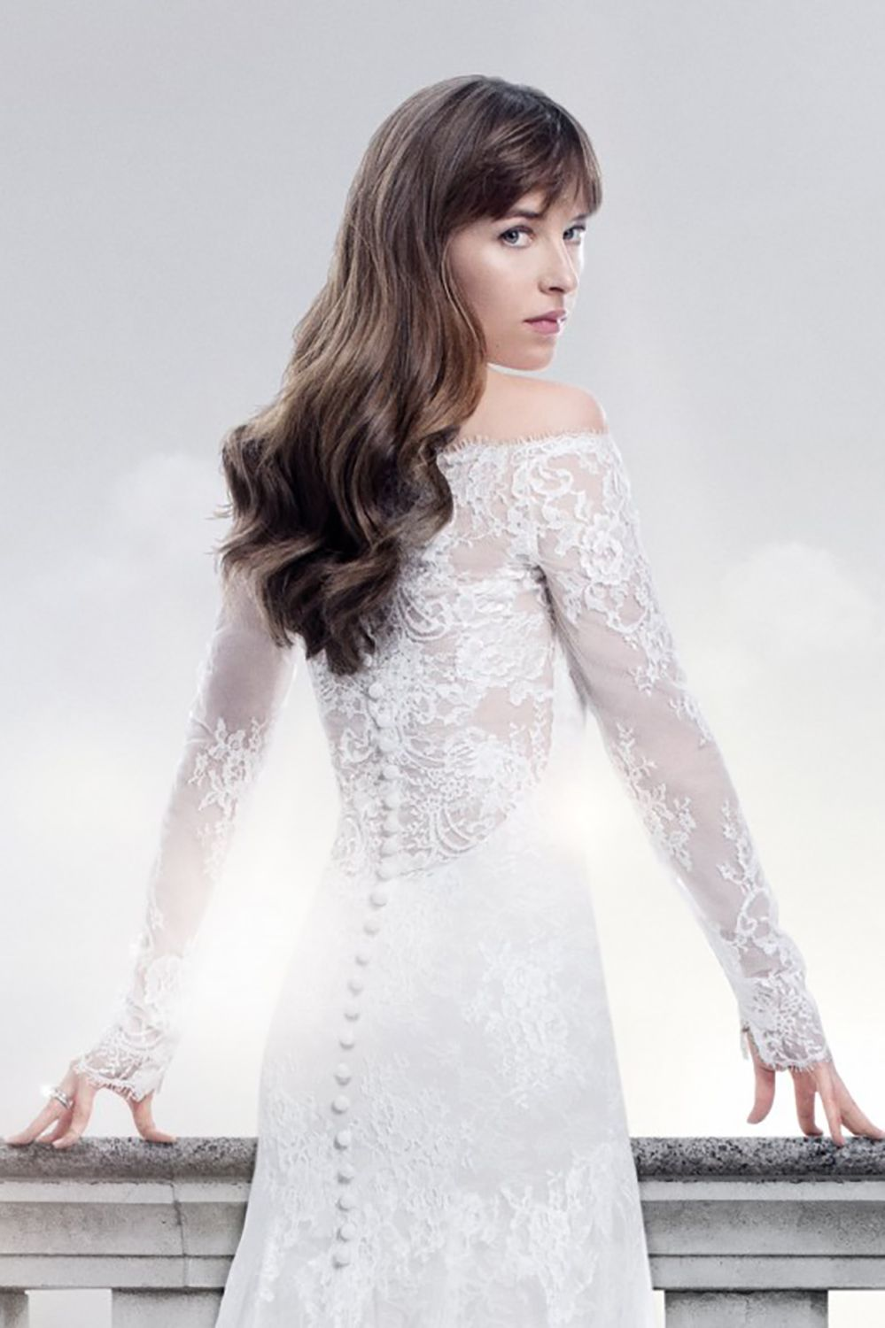 wedding dress iconic Fifty Shades of Freed img