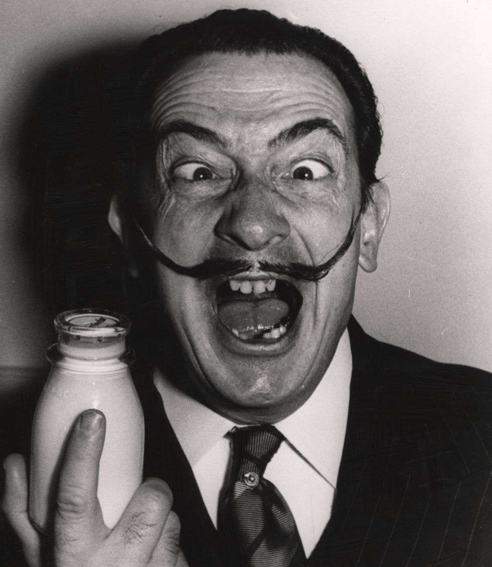 salvador dali instagram esquire