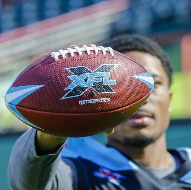 XFL: FEB 01 Dallas Renegades Practice