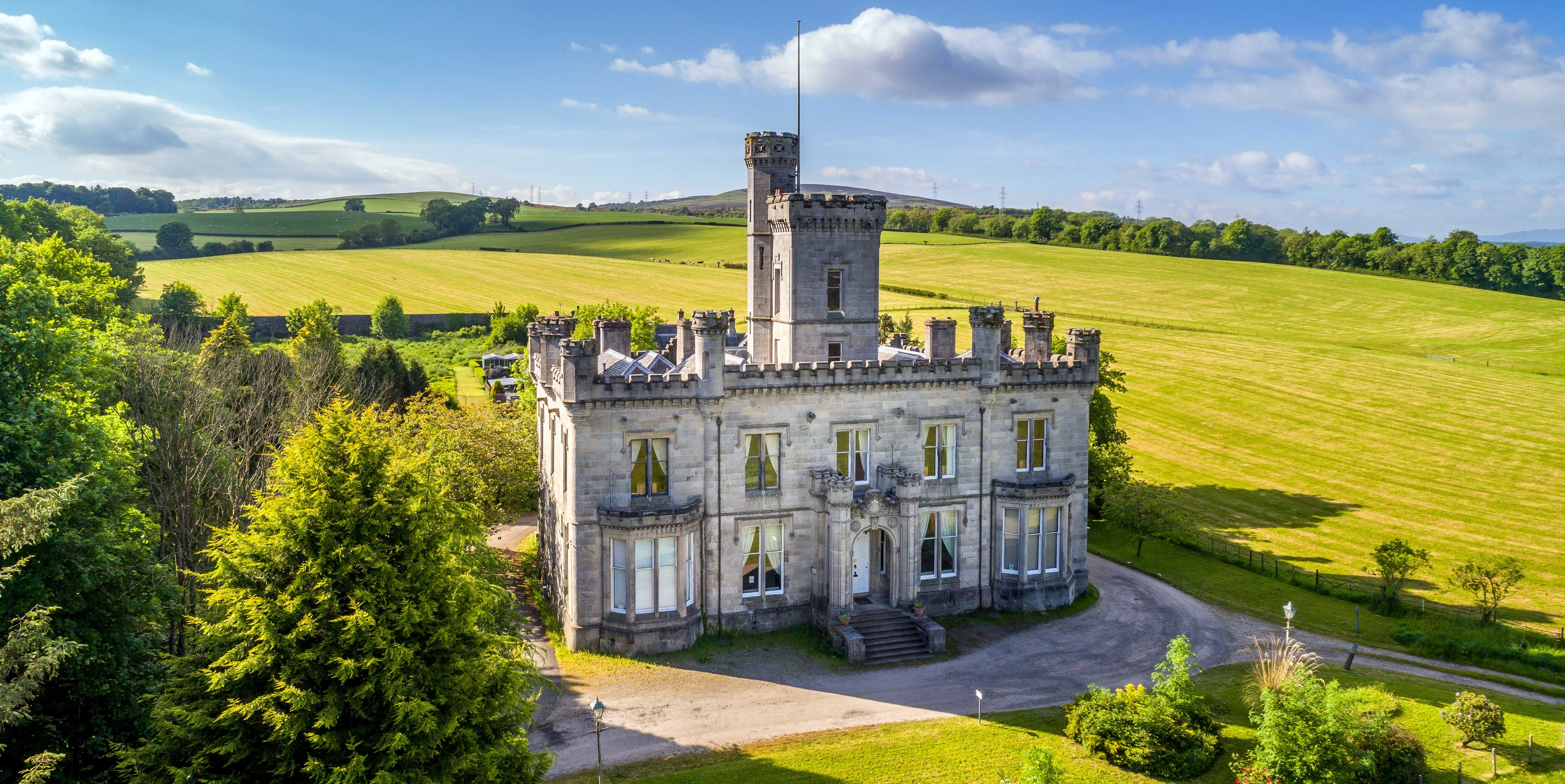 Dalmoak Castle - Scotland - castle - Savills