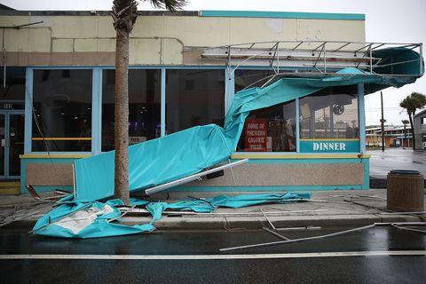 Hurricane Florence Slams Into Coast Of Carolinas