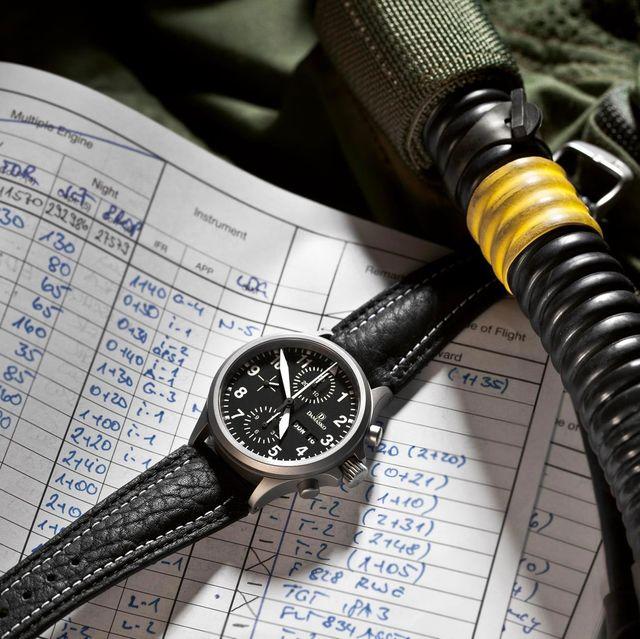 damasko watches desk aviation