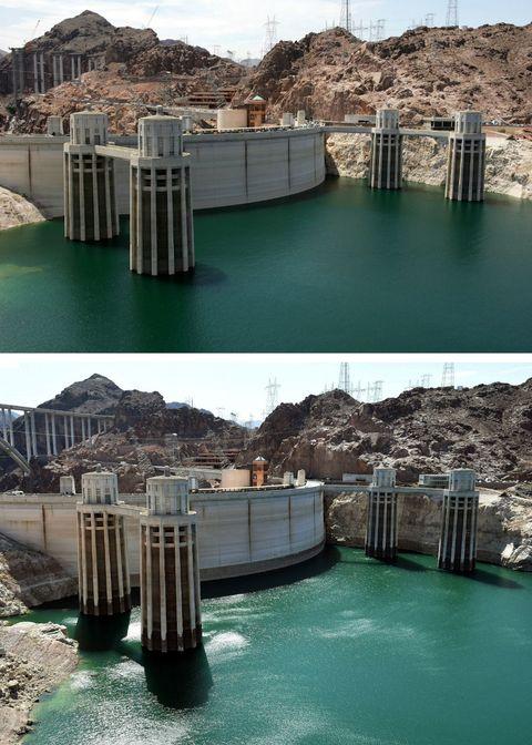Recursos hídricos, Agua, Embalse, Presa, Infraestructura, Lago, Laguna, Roca, Atracción turística, Turismo,