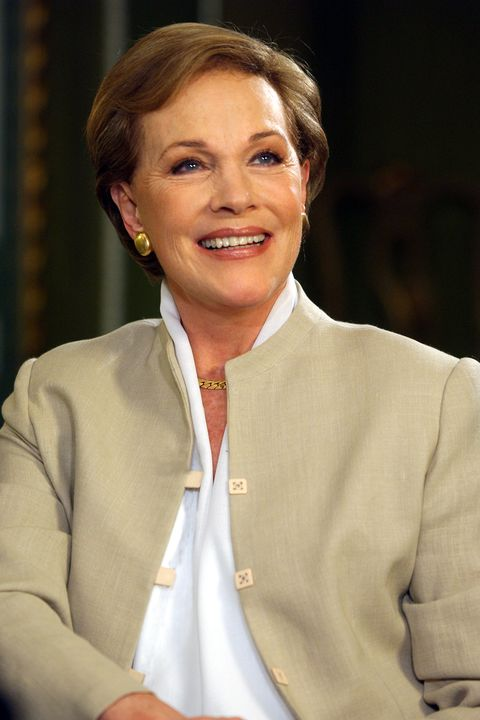 dame julie andrews appearing on bbc breakfast with frost