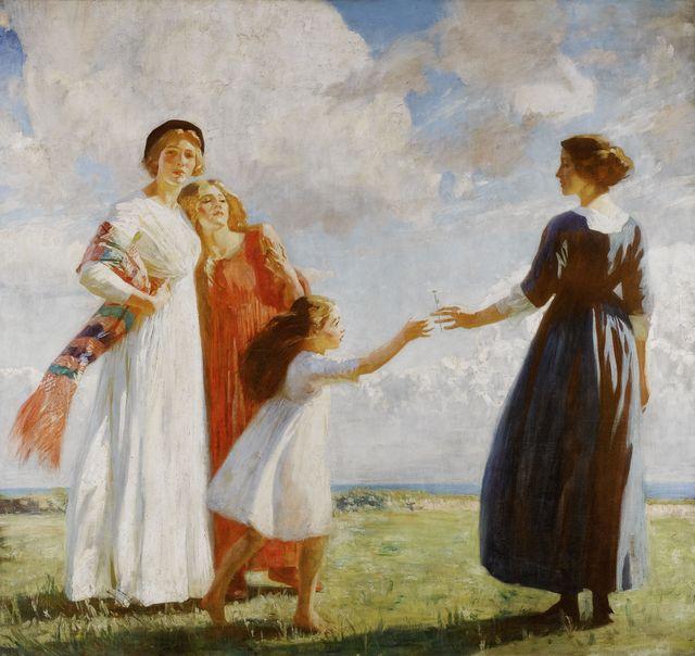 artiste donne nella storia