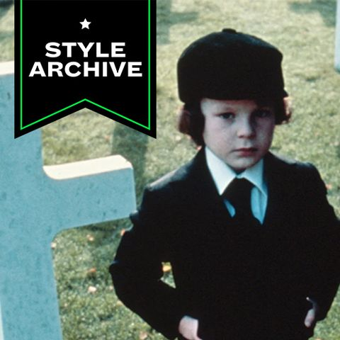 The Omen S Damien Thorn Was A Style Prophet