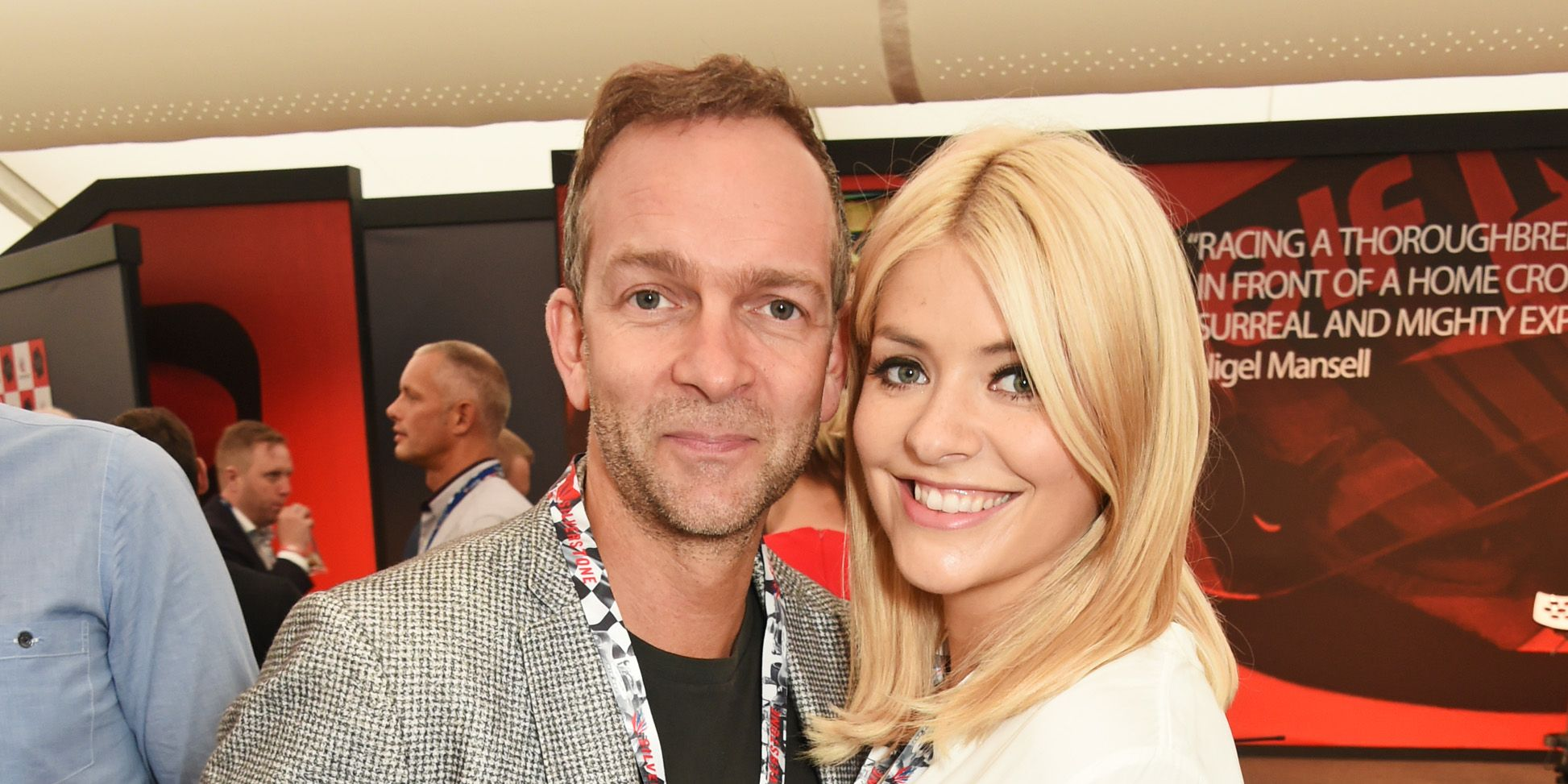Holly Willoughby husband Dan Baldwin