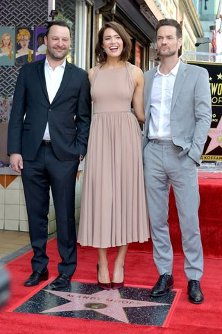 Mandy Moore S A Walk To Remember Costar Shane West Honors Her At Walk Of Fame Star Ceremony