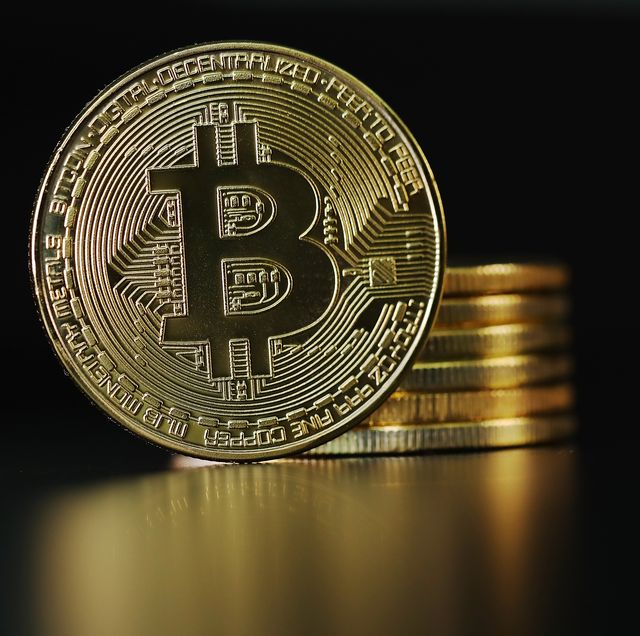 london, england   october 23  a visual representation of the digital cryptocurrency, bitcoin on october 23, 2017 in london, england cryptocurrencies including bitcoin, ethereum, and lightcoin have seen unprecedented growth in 2017, despite remaining extremely volatile while digital currencies across the board have divided opinion between financial institutions, and now have a market cap of around 175 billion usd, the crypto sector coninues to grow, as it sees wider mainstreem adoption  photo by dan kitwoodgetty images