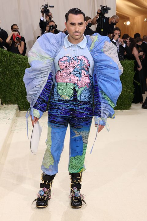 the 2021 met gala celebrating in america a lexicon of fashion red carpet dan levy
