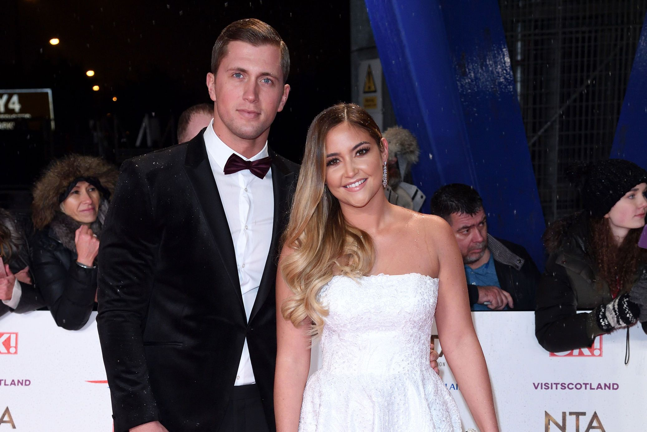 Jacqueline Jossa's husband Dan Osborne denies kissing Love Island star behind her back