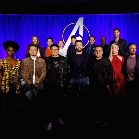 Marvel Studios' 'Avengers: Endgame' Global Junket Press Conference