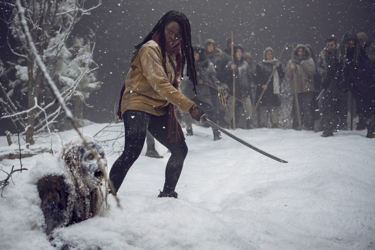 La despedida de Michonne de 'The Walking Dead' será épica