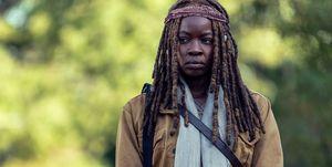 Danai Gurira as Michonne, The Walking Dead, season 9, episode 14