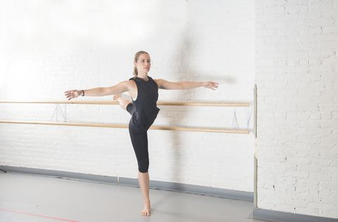 6週芭雷舞課程的身體變化