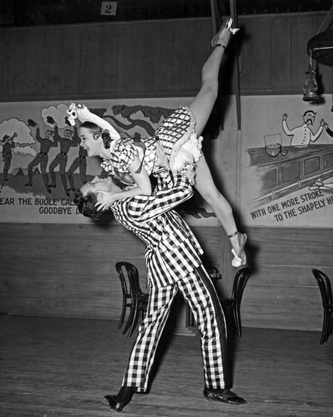 McCracken during a performance in 1944.