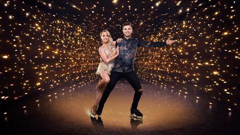 sonny jay, angela egan, dancing on ice 2021 contestant