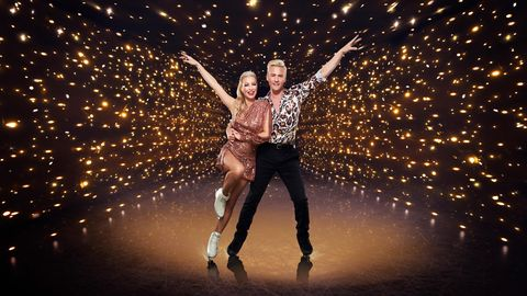 denise van outen, matt evers, dancing on ice 2021 contestant