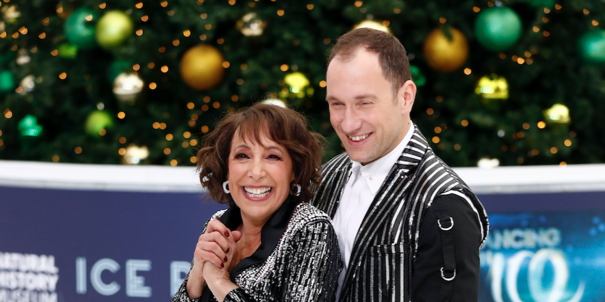 Lukasz Rozycki and Didi Conn during a photocall for the new series of Dancing On Ice