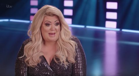 """Dancing on Ice star Gemma Collins says she was told to """"f**k off"""" by a fellow contestant"""