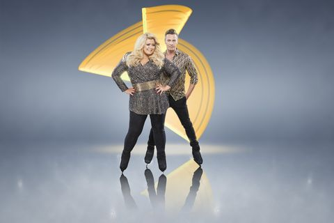 Dancing on Ice: Gemma Collins & Matt Evers (embargoed until 10:30pm this evening (Thursday 27th December)