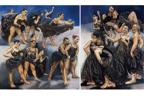 Paula Rego's defiant artworks go on show at MK Gallery