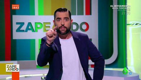 Críticas al debut de Dani Mateo en 'Zapeando'
