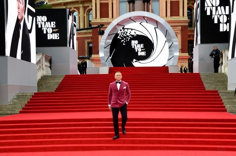 """""""no time to die"""" world premiere   red carpet arrivals"""