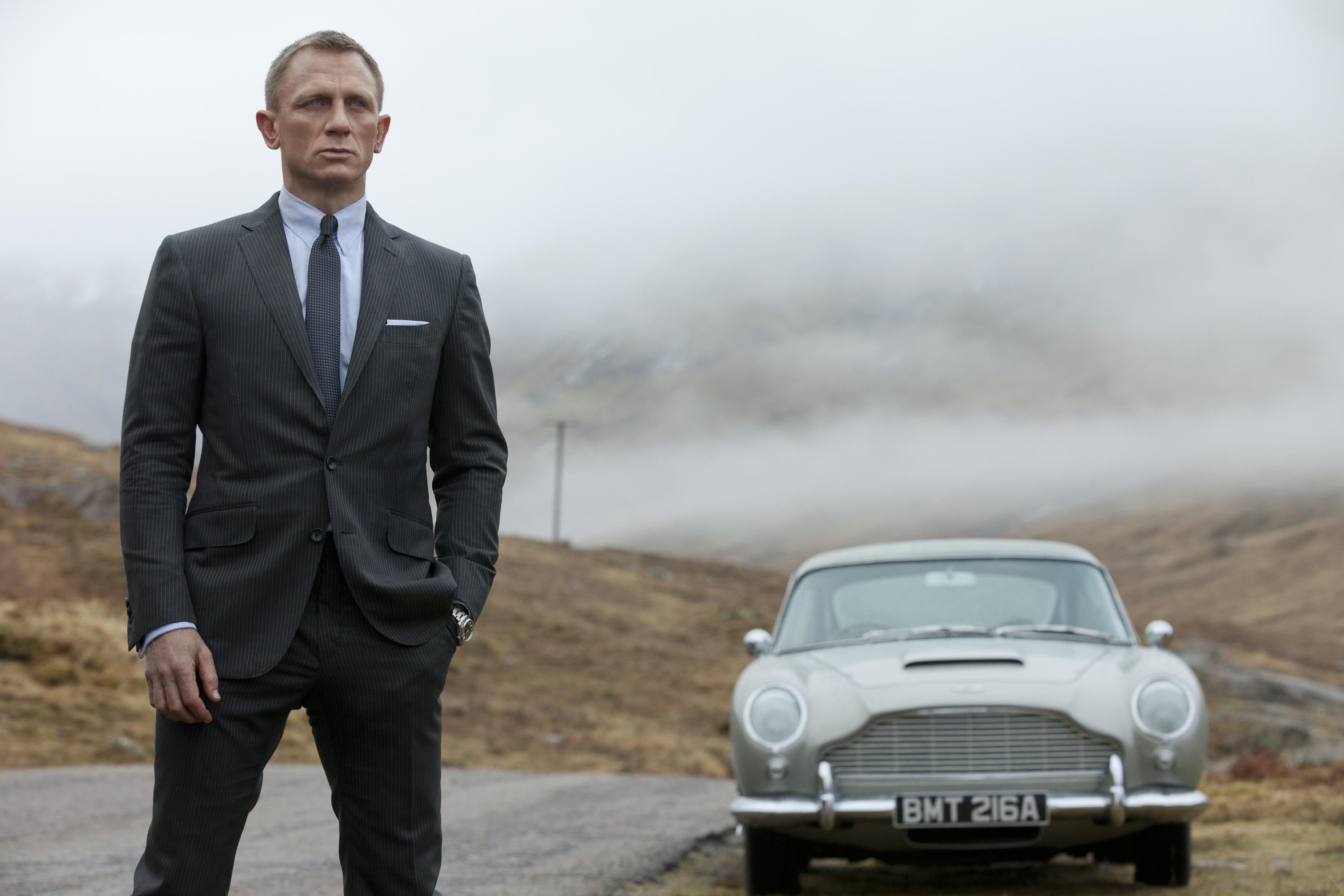No Time To Die Unveils First Look At New Aston Martin In Bond 25