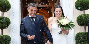 Daniel Ducruet en su boda con Kelly Marie Lancien