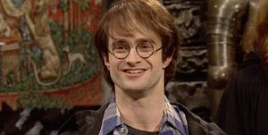 Daniel Radcliffe como Harry Potter enSNL