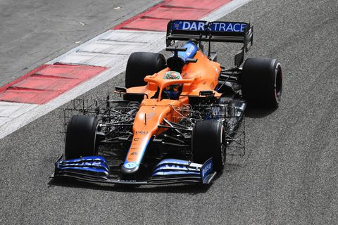 formula 1 testing in bahrain   day 2