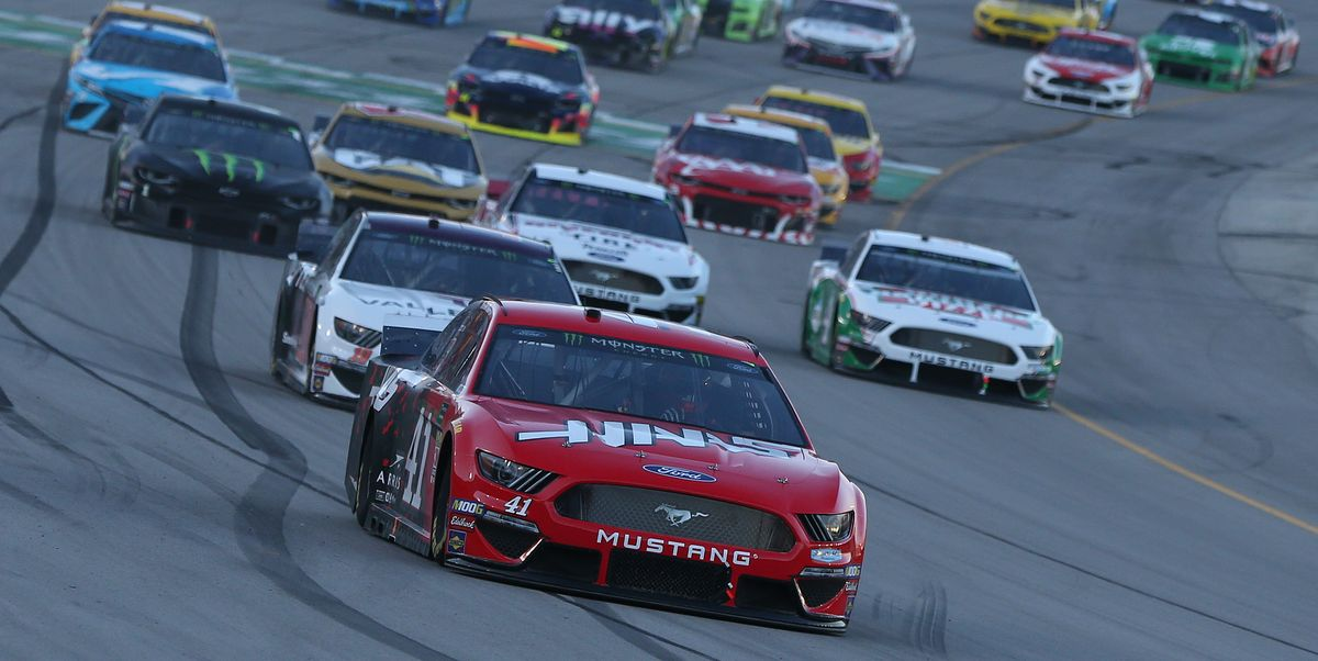 daniel suarez driver of the haas automation ford leads a news photo 1594257278 jpg?crop=1 00xw:0 753xh;0,0 0978xh&resize=1200:*.