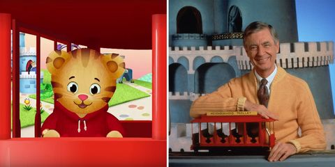 daniel the tiger and mister roger pbs kids