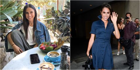 Danielle Bazergy meghan markle celebrity look-a-like