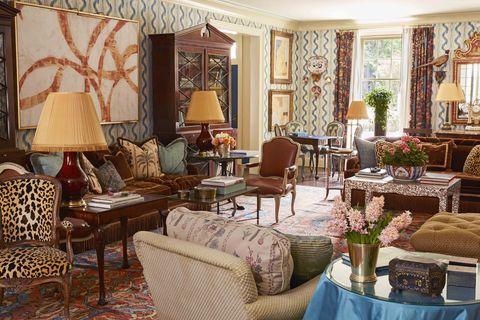 danielle rollins atlanta living room