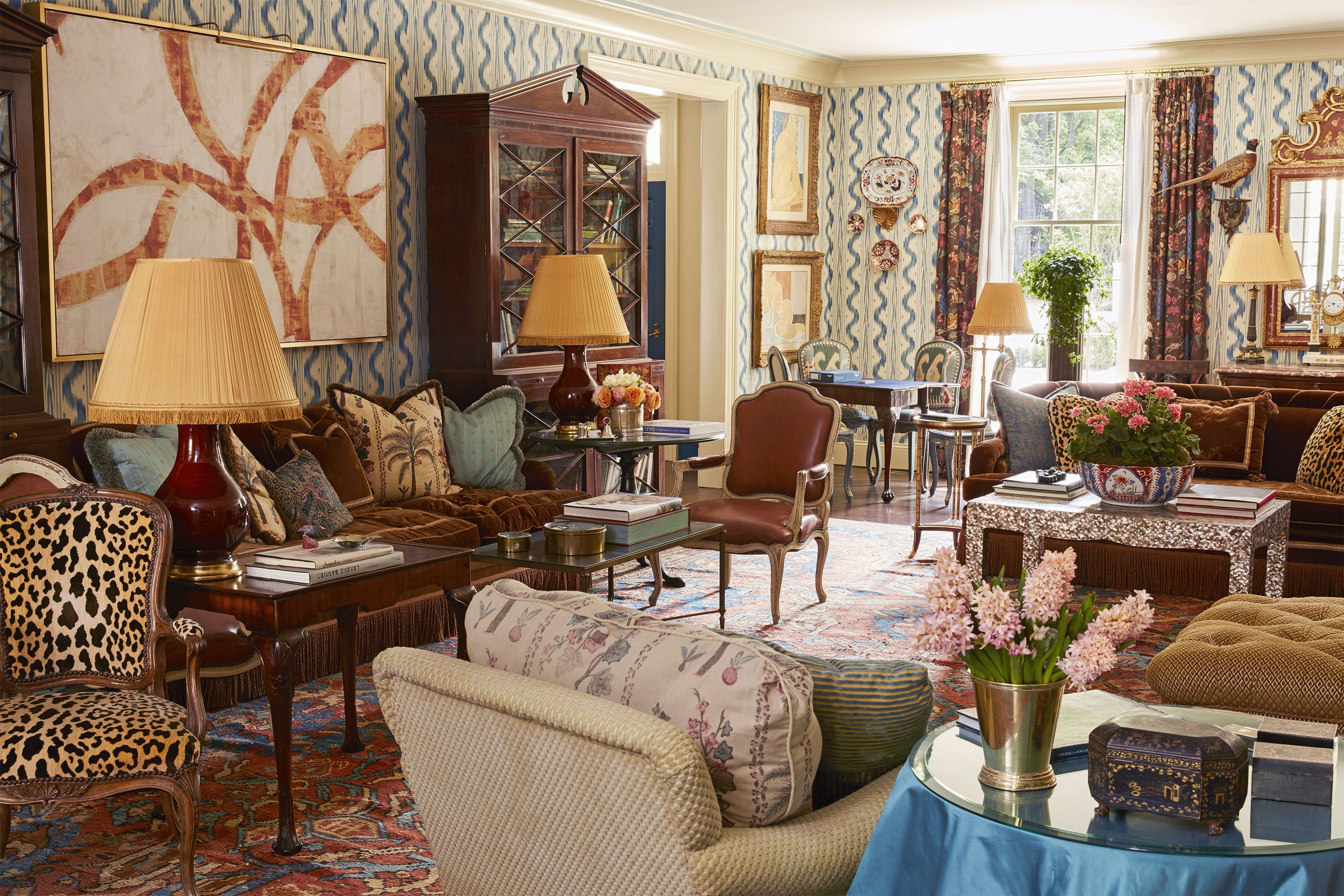 HOUSE TOUR: Step Inside The Playful Home Of A Glamorous Atlanta Tastemaker