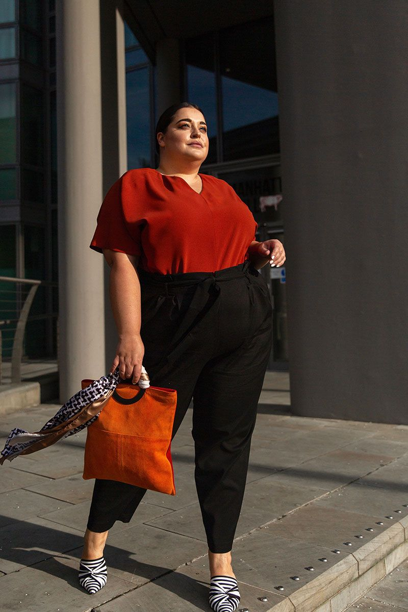 0030ae1aa Plus size brand Navabi's new collection with influencer Danielle Vanier is  SO good