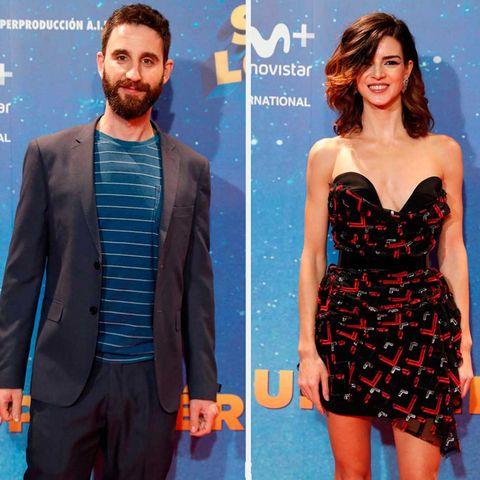 Dani Rovira y Clara Lago en el estreno de 'Super Lopez'