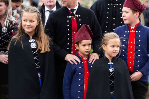danish royal family visit the faroe islands in the north atlantic
