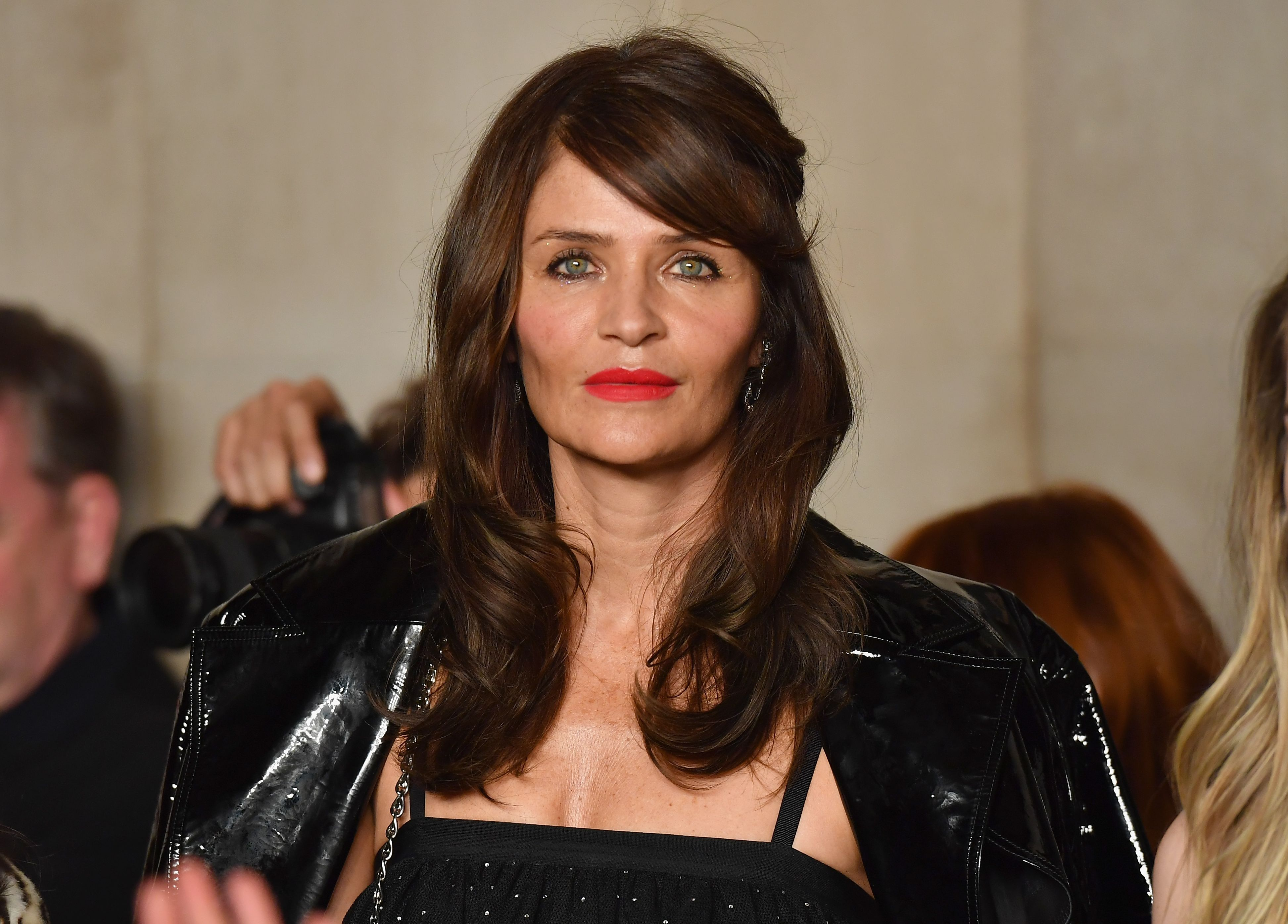 Helena Christensen, 50, Shares Topless Photo Showing Off Toned Abs On Instagram