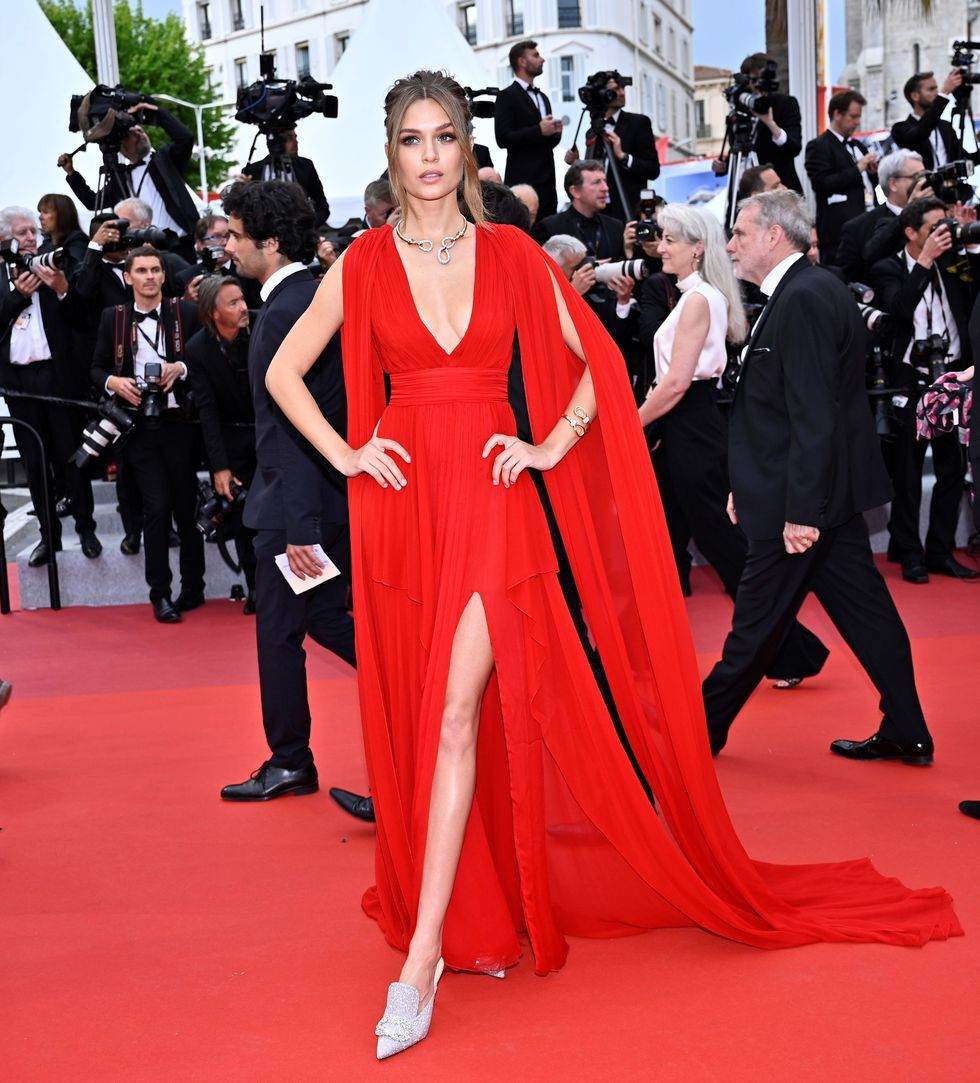 Josephine Skriver At the screening for La Belle Epoque on May 20, 2019.