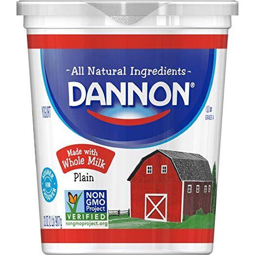 Dannon Natural Plain Yogurt