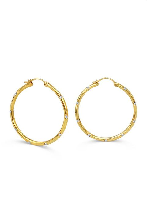 Daphine hoops, best gold hoops