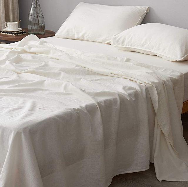 dapu linen bed sheets