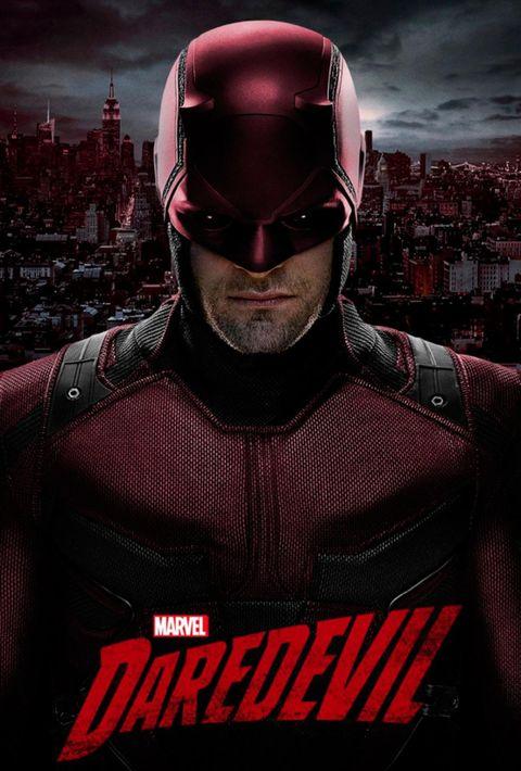 el poster de la serie daredevil