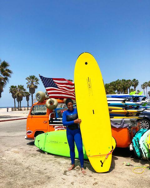darian symoné harvin surfing